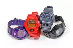 Casio G-Shock DW6900 New Fall Colors -Want purple one-  <3