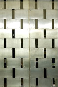 The black glass and stainless steel doors of Villa Necchi. So delightfully graphic and industrial at the same time. Architecture Details, Interior Architecture, Interior Design, Villa Necchi, Mod Furniture, Stainless Steel Doors, Cy Twombly, Modern Door, Wall Finishes