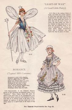 Vintage Pattern Catalog Booklet 1920's Masquerade Costumes From Ladies Home Journal In PDF Form. $5.00, via Etsy.
