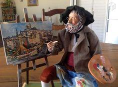 Santon lise berger le peintre