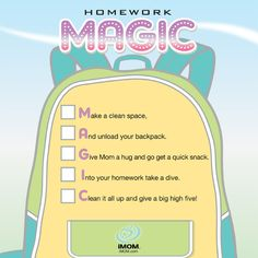 Homework Magic - iMom