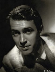 PORTRAIT DE JAMES STEWART PAR  ALLAN TED