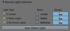 Bounty light selector