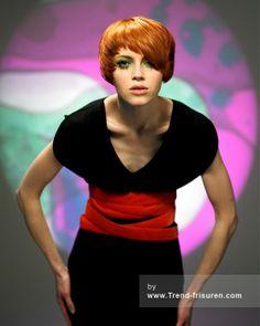 TPL FRISEUR Rot Kurze weiblich Gerade Frauen Haarschnitt Frisuren hairstyles