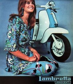 Vintage Motorcycles Jean Shrimpton for Lambretta Scooters, fashion. Scooter Girl, Retro Scooter, Vespa Girl, Lambretta Scooter, Jean Shrimpton, Italian Scooter, Vintage Outfits, Vintage Fashion, Vintage Beauty