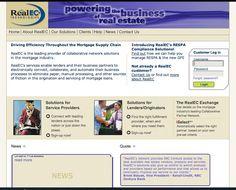 RealEC portal for Real Estate professionals.