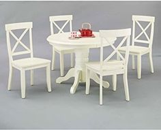 5 Best White Dining Table Set Reviews 2017 | White Dining Table Set Review