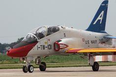 Navy Centennial T-45 Arrival