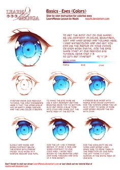 Eyes-ColorLearn Manga Basics: Eyes-Color by Naschi on deviantART