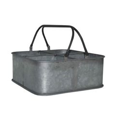 Cheungs Rectangular Bucket with 4 Slots and 2 Handles