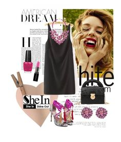"""Shein 16#"" by mirelagrapkic ❤ liked on Polyvore featuring Mode, MANGO, Christian Dior, Smashbox, OPI und shein"
