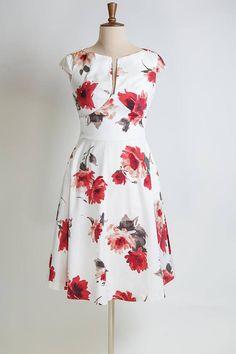 Vestido flores vestido de verano vestido hecho a medida