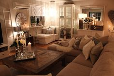 Lind Road: living room