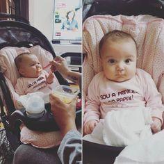 Hora do papa é uma hora sagrada! #baby #babygirl