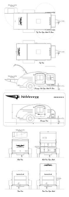 Teardrop schematics