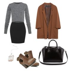 """""""fall #2"""" by rabiaauyar ❤ liked on Polyvore featuring beauty, Marc by Marc Jacobs, Miss Selfridge, Zara, Givenchy, Boots, fashionWeek, fashiontrend, fashionset and fallstyle"""