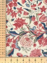 Dutch heritage fabric. Www.creativequilting.co.uk