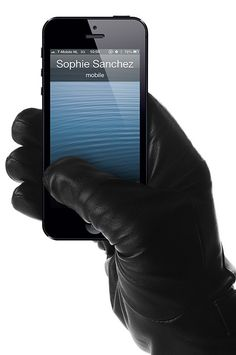 Leather Touchscreen Gloves - $169