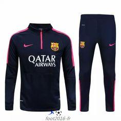 boutique Nouveau survetement equipe de foot FC Barcelone Black 2015 2016 pas…