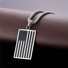 National Flag Pendant Necklace