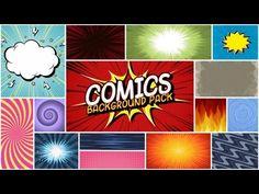 Comics Background Pack