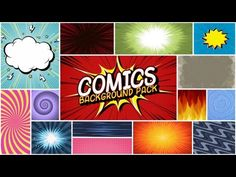Comics Background Pack