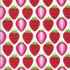 Hoodie - Fruit A La Carte - Strawberry in White