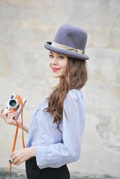 fantastic hat   ulyana sergeenko