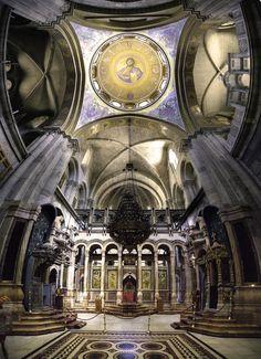 Church of the Holy Sepulchre, Jerusalem II by Asi Yacobovitch, via 500px