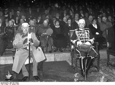 Paul von Hindenburg und August von Mackensen