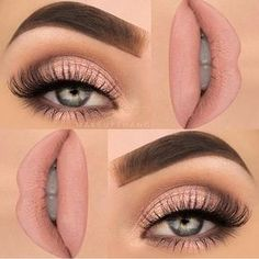 Feminine pink our current artist obsession @makeupthang killed it with this super soft and beautifully blended look. Stop what you're doing & go follow her #TeamMorphe