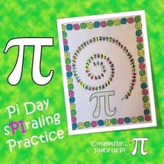 Pi Day Activity: sPIraling Practice with Pre Algebra Topics! Students can use their answer sheets to create posters for the classroom and their lockers.  Practice with: Multi-step Equations, Exponent Rules, Volume, Area of Circles, Cube Roots, Slope, Rate of Change, Transformations, Scientific Notation, Pythagorean Theorem.