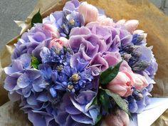 pink & lavender bouquet