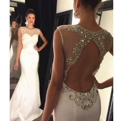 Backless Prom Dress Mermaid Style pst0664 – BBtrending Mermaid Style Prom Dresses, Prom Dresses 2016, Backless Prom Dresses, Mermaid Evening Dresses, Dresses For Teens, Party Dresses, Prom Gowns, Bridesmaid Dresses, Cheap Dresses