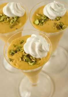 Champagne® Mango Milk Shake with Pistachios  Champagne® Mango Milk Shake with Pistachios    Ingredients:        ½ gallon vanilla ice cream      3 champagne® mangos, pitted, peeled and pureed      5 tbs of ground pistachios      1 cup milk #champagne #cupcakes #champagne #caviar #interiordesign #interiors #texas #tx [www.larrylottinteriors.com]