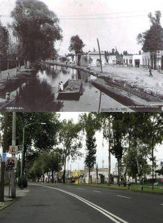 1922-2011 Calzada de la Viga, México City Mexico.