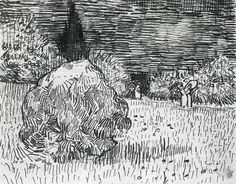 Vincent van Gogh Bush in the Park at Arles; The Poet's Garden II - The Largest Art reproductions Center In Our website. Low Wholesale Prices Great Pricing Quality Hand paintings for saleVincent van Gogh Vincent Van Gogh, Artist Van Gogh, Van Gogh Art, Van Gogh Drawings, Ink Pen Drawings, Art Van, Van Gogh Zeichnungen, Desenhos Van Gogh, Art In The Park