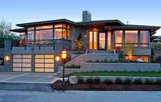 Looking for trendy contemporary house design ideas to get you inspired? Access a photo gallery from top contemporary home architects, layout, plans ...FREE!