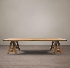Benson Sawhorse Coffee Table