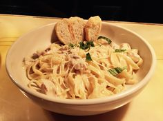 Fettuccine Alfredo with Our Perfectly Seasoned Chicken