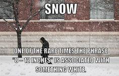 funny snow