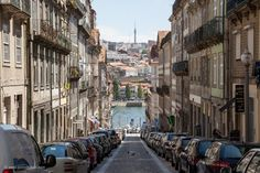 Small #street at #river bank in #Porto  http://www.patrickjoest.com/portfolio/landscapes/small-street-river-bank-porto