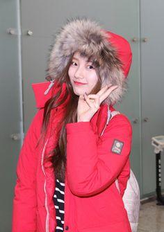 Miss A Suzy's Bean Pole Outdoor at Incheon International Airport going to Canada - Jan 2014 [PHOTOS] Korean Model, Korean Singer, Korean Celebrities, Celebs, Actors Height, Miss A Suzy, Airport Style, Airport Fashion, Bae Suzy
