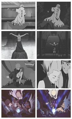 Like a Father, Like a Son. #NaruSaku #MinaKushi