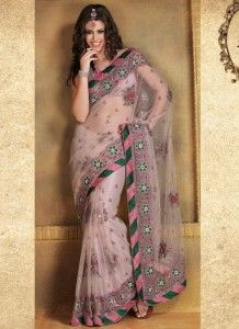 Latest And Exclusive Saree Trends in Summer 2012 007 218x300 Photo
