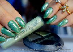 Sombra em Creme Avon, Glazewear Diamons, Verde Metálico
