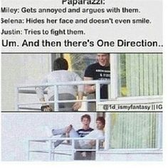 One Direction and the Paparazzi One Direction Humor, I Love One Direction, 5sos, Mathew Espinosa, Funny Memes, Hilarious, 1d Imagines, Jack Gilinsky, Cameron Dallas