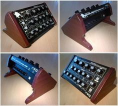 Moog Minitaur Synth Custom End Panels Studio Equipment, Musical Instruments, Wood Crafts, Music Production, Keyboard, Audio, Guitar, Ebay, Music Instruments