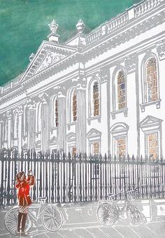 Cambridge, Taj Mahal, Contemporary Art, England, City, Creative, British, Cities, Contemporary Artwork