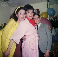 Judy Garland, Lorna and Joey Luft